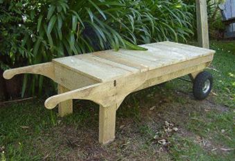 Opciones de bancas de madera para jard n mauricio for Bancas para jardin de madera