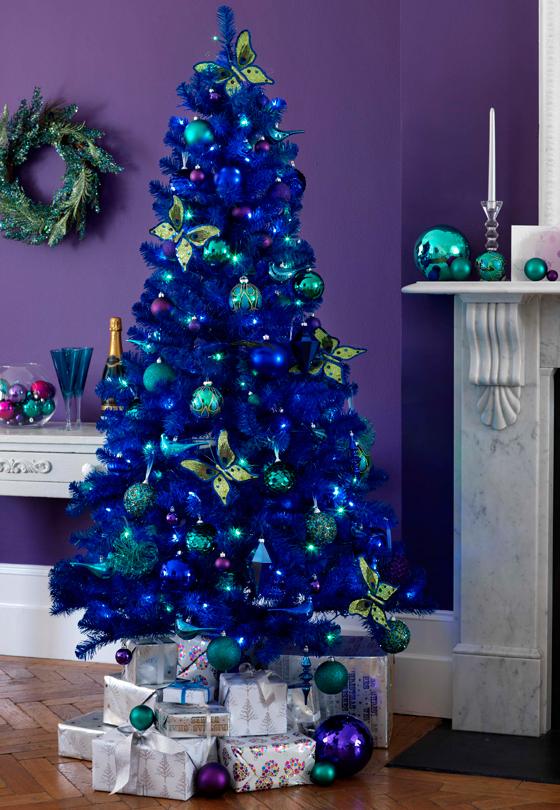 Navidad en azul mauricio gast lum hern ndez - Decoracion navidena 2013 ...