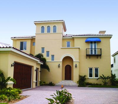 Colores de fachadas trendy colores para fachadas de casas - Opciones para pintar mi casa ...