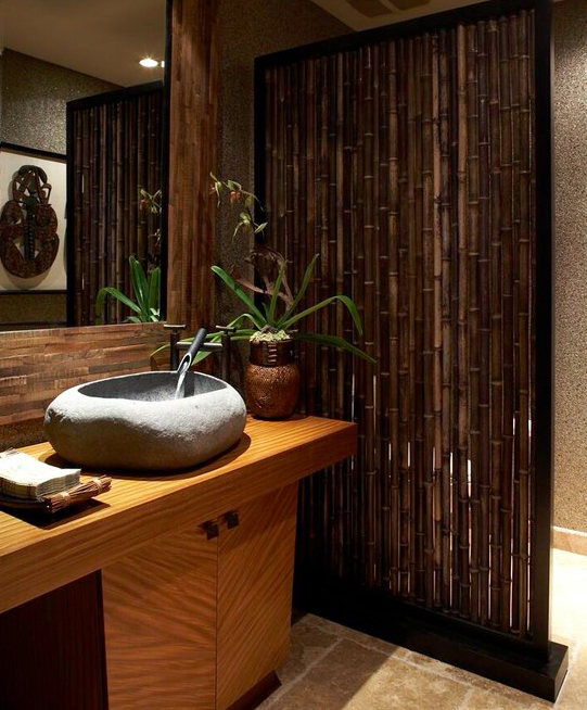 Pisos De Bambu Para Baño:Ideas para decorar baños y recámaras con bambú