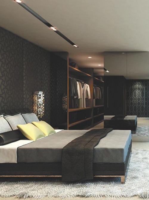 Diseños de dormitorios modernos masculinos  Mauricio ...