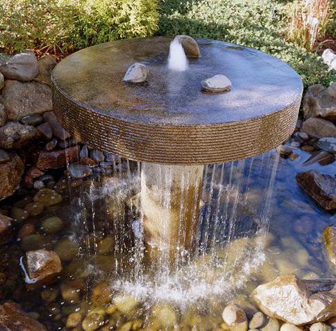 Pin fuentes de agua feng shui on pinterest for Fuentes decorativas de jardin