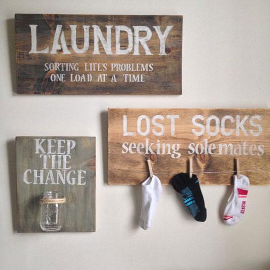 Como acomodar cuarto de lavado