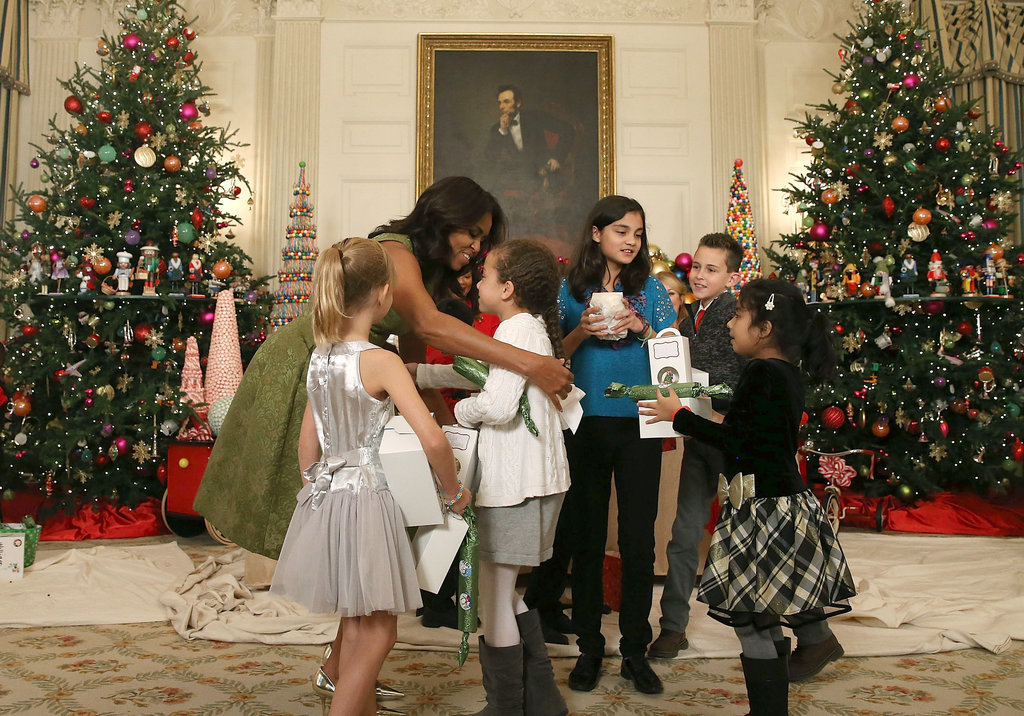 obama comparte la decoraci 243 n navide 241 a de la casa